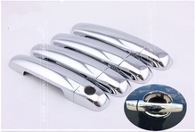 FUNDUOO New Chrome Car Door Handle Cover Trim Sticker For Suzuki SX4 Hatchback 2006 2007 2008 2009 2010 2011 2012(China)