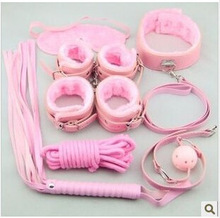 Fun pink leather kit, seven sets of alternative toys adult supplies factory direct(China)