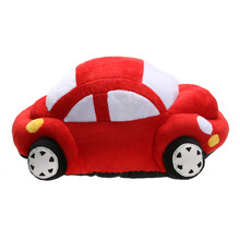 Children Plush Toy 1pc 35/45cm Cute Comfortable Baby Red Stuffed Car Shape Dolls Plush Toys Soft Baby Kids Pillow Toy Gift