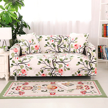 flexible Printing stretch Sofa cover Big Elasticity spandex Couch cover Loveseat sofa Funiture Cover
