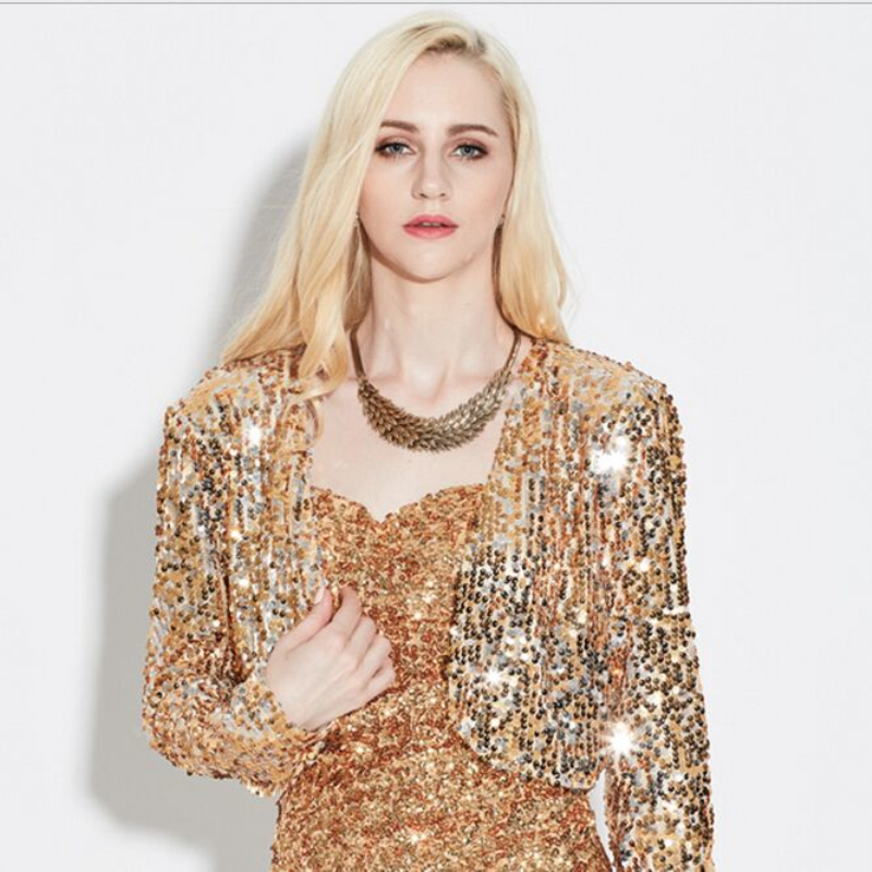 Gold Short Jacket Promotion-Shop for Promotional Gold Short Jacket ...