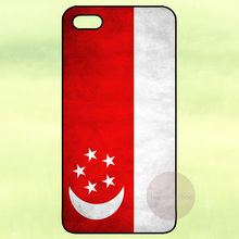 Singapore Flag Plastic Cover Case for Samsung Galaxy S2 S3 S4 S5 Mini S6 S7 Edge Note 2 3 iPhone 4 4S 5 5S 5C 6 Plus iPod Touch