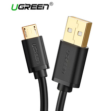 Ugreen Micro USB Cable 3m 2m 1m 5V2A Fast Charger USB Data Cable for Samsung HTC Huawei Mobile Phone Cables for Android Phones