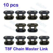 10pcs/pack T8F Chain Spare Master Link 8mm For 2 Stroke 43cc 47cc 49cc Mini ATV Quad Dirt Super Pocket Bike Motorcycle