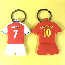 Miniverse 2016-17 Season Soccer Star Alexsis Sanchez Coutinho Club Jersey Doll Accessories Red