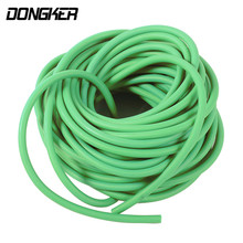 DONGKER 10M Slingshot Rubber Band Bow Catapult Elastic Tube Rope Airsoft Hunting Shooting Bungee Arrow Natural Latex Tube