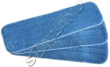 Sinland Deep Clean Mop Head Mops Refill Mop Replacement Pads WET Mops Refill 5.1 Inchx17.7 Inch 3 pack Blue