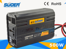 Suoer inverter solar power system 12 volt 220 volt inverter 500W solar power inverter(SAA-500AS)
