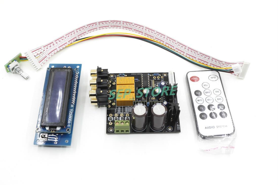 Assembled Upgrade PGA2311 Stero Remote Volume Controller Preamplifier Board