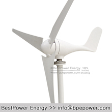High Quality 100w 200w 300W 400w 12V 24V Wind Power Generator Turbine Small Windmill CE RoHS Certificated(China)