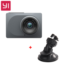 "[International Edition] Xiaomi YI Smart Car DVR 165 Degree 2.7"" Dash Camera 1080P 60fps ADAS Safe Reminder WIFI Dashcam(China)"