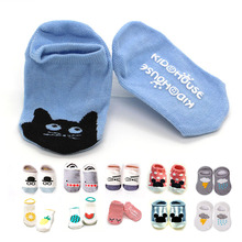 Newborn Cotton Baby socks floor socks  Boys Girls Cute Cartoon animal  Baby Toddler Socks  infant  Anti-slip socks