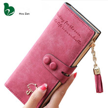 Long Designer Luxury Famous Brand Portfolio Cute Leather Women Wallet Perse Female Clutch Women's Purse Walet Card Holder Cuzdan(China)