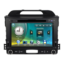 "8"" Car Radio DVD GPS Navigation Central Multimedia for Kia Sportage R 2011 SD USB RDS Analog TV Phonebook Bluetooth Handsfree"