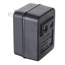 Newest Hot US Japan Canada Brazil AC 220V to 110V AC Power Voltage Converter 15W Adapter Travel Transformer Hot Sale(China)