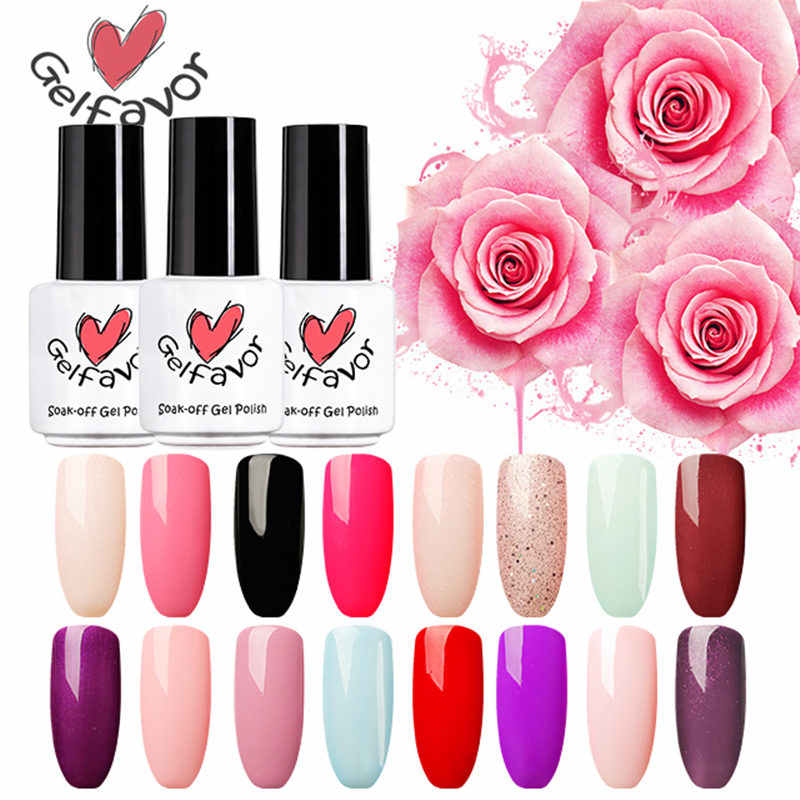 Detail Feedback Questions about Gelfavor Pure Color Gel Nail Polish ...