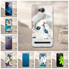 Case For Huawei Y3 II Y3 2 3D TPU Soft Phone Case Back Cover for Fundas for Huawei Y3 II Y3 2 Phone Case Silicon Protective Capa(China)