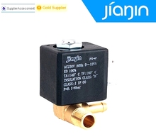 Origin JYZ-3 Normally Closed N/C AC 230V G1/8' Brass Iron Steam Water 2 Position 2 Way Electromagnetic Solenoid Valve(China)