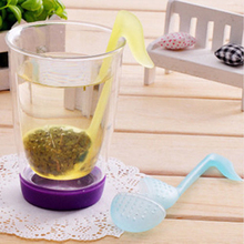 Smart Music Note Fashion Convenience Tea Strainer Spoon Teaspoon Infuser Filter
