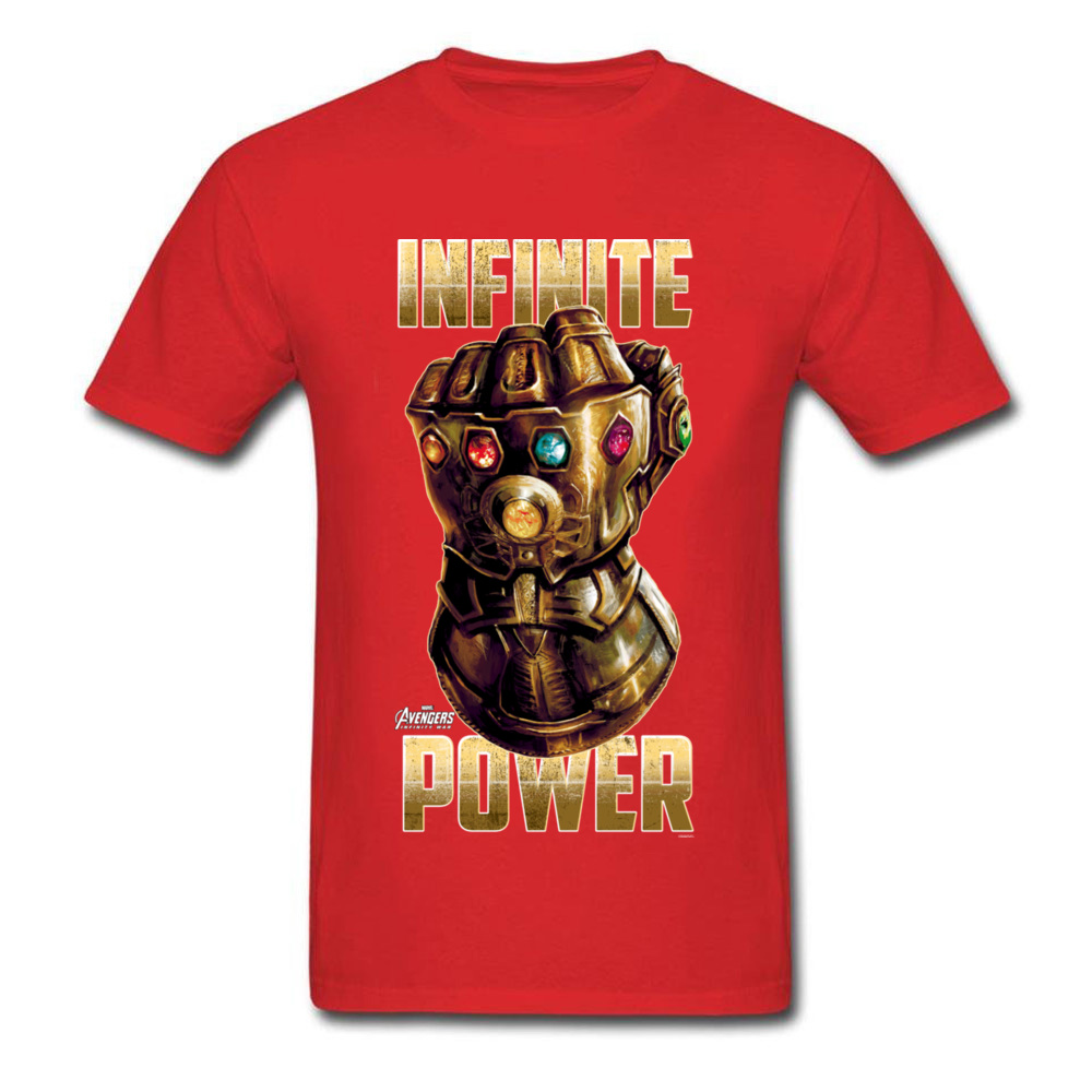 Star War Infinite Power Summer/Fall Pure Cotton Round Neck Tees Short Sleeve Funny Tops Tees 2018 Newest Summer T-Shirt Infinite Power red