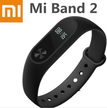 In Stock ! Original Xiaomi Mi Band 2 Wristband Bracelet Smart Heart Rate Fitness Tracker Monitor Bluetooth Pedometer Waterproof(China)