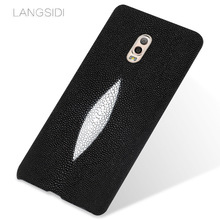 LANGSIDI brand mobile phone case pearl fish half a pack of mobile phone case For Samsung Galaxy C8 phone case custom processing(China)