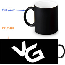 Vanoss gaming Magic Mug Custom Photo Heat Color Changing Morph Mug 350ml/12oz Coffee Mug Beer Milk Mug Halloween Gift