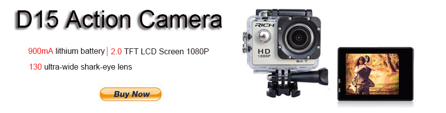 D15 action camera