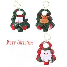 1 PC 3 Types 16x12cm Nonwovens Christmas Party Wedding Decor Creative New Year Celebration Gift Ornament Supply