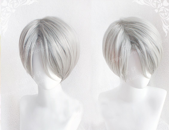 New YURI!!! on ICE Victor Nikiforov Cosplay wig Anime YURI on ICE wigs<br><br>Aliexpress