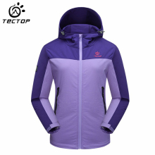 TECTOP  Women Outdoor Jacket Mountain Camping Hiking Windbreaker Women Windproof Trekking Sport Jaqueta Feminina
