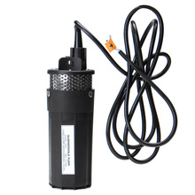 12V Deep Well Water Submersible Pump High Power 100W Solar Panel Kits  for Farm Washing