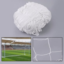 (Ship From US) 3x2m Football Soccer Goal Post Net Sports Match Training Replacement White Polypropylene Cotton Blended Material(China)