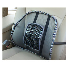 Car Seat Office Chair Back Cushion Back Lumbar Massage Mesh Ventilate Cushion Pad Pain Relief Seat Posture Corrector V1670