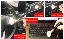 Car Interior Cleaning Dust Removal Brush