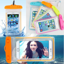 100% sealed Waterproof Durable Water proof Bag Underwater back cover Case For iPhone For touch Pouch For Samsung Galaxy For HTC(China)