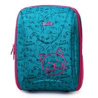 Delune Brand Shcool Bags for Girls Boys Printing Waterproof SchoolBag Children Orthopedic Backpack Mochila Escolar Birthday Gift