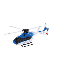 EC145 K124 2.4G 6CH 3D 6G System Brushless Motor BNF RC Helicopter without Transmitter