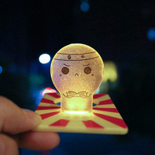 1PCs New Slice Cute Pocket Wallet Credit Card Size LED Night Light Lamp Bulbs(China)