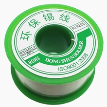 Professional Flux Solder Wire High Pure Reel Lead Free Tin Solder Soldering Welding Iron Wire with 0.7Cu Flu 2% Flux(China)