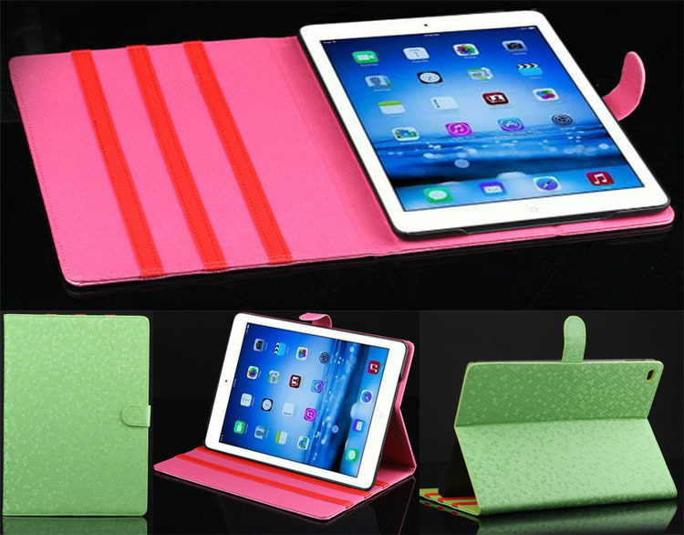 For Apple iPad 6 iPad Air 2 Case Magnetic Leather Smart Case Cover with Card/Money Pocket Classic fashion Wallet Book Cover Skin<br><br>Aliexpress