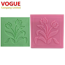 DIY Peony Flower of Riches Styling Embossing Mold Silicone Cake Mould Fondant Cake Decorating Candy Pastry Tools N2154(China)