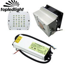 Topledlight DIY Customize Aquarium Coral Led Emitter Lamp Light Kit Cree + Epileds DIY Led + 60W Led Driver + 60W Led Heatsink