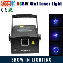 New Design DMX RGBW Animation LED Laser Light For Disco Clubs KTV Family Pub Bar Party RGB Laser Animation Projector