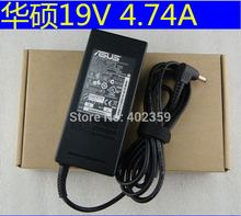 Laptop power supply ac adapter for ASUS 19V 4.74A ADP-90SB BB  PA-1900-24 PA-1900-04 power charger