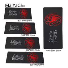 MaiYaCa Newest Game of Thrones Pad mouse pad to Mouse Notbook Computer Mousepad Custom With Locking Edge Gaming Mouse pads Gamer(China)