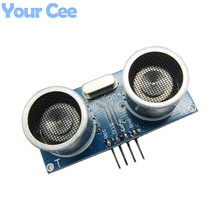 5 pcs HC-SR04 Ultrasonic Module Distance Measuring Transducer Sensor Detector Ranging Module DC 5V