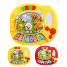 Details about  Baby Toddler Musical Educational Animal Farm Piano Music Developmental Kids Toy