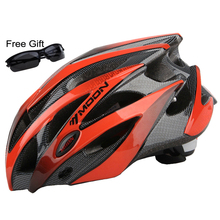 MOON Bicycle Helmet Integrally-molded Cycling Helmet Ultralight Outdoor Sports MTB Road Mountain CE Certification Bike Helmet(China)