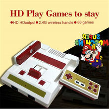 New HD Video Game Console 268 free games High definition HDMI TV Out with wireless gamepad controller for fc 8 bit games